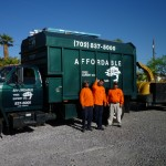 Affordable Tree Service Truck & Crew