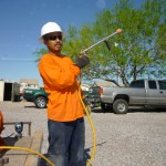 Affordable Tree Service Crew Member with Fertilizer Tank