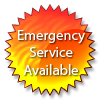 Emergency Service Available